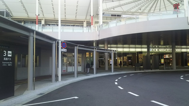 JR広島駅周辺の高速バス乗り場をわかりやすく解説★